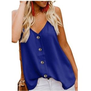 Women's Button Down V Neck Shirts Blouses